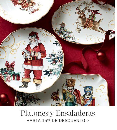Platones y Ensaladeras