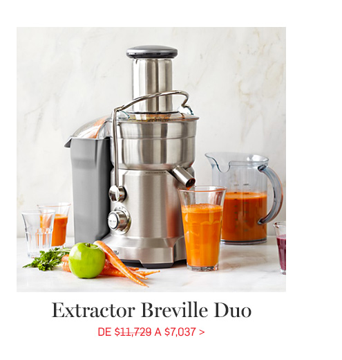 Extractor Breville duo